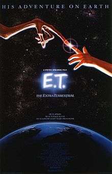 ET THE MOVIE - POSTER