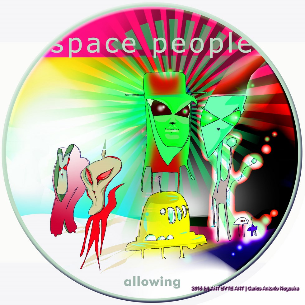 SPACE PEOPLE - ALLOWING - ANTBYTE ART