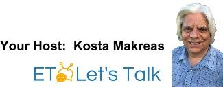 Kosta Makreas ETLetsTalk - Swami Beyondananda