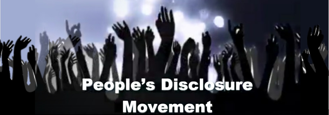 Peoples Disclosure Movement - ET & UFO Experiencers